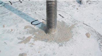 Материалаар цементлэх & Анкер